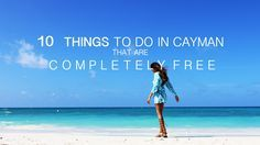 It's often considered one of the most expensive Caribbean islands to visit  and to live on. Yes, there are swanky, upscale restaurants and luxury  yachts you can tan on, but the Cayman Islands actually has a lot on offer  for the more curious traveler, and you don't even need to bring your  wallet. Here's a list of some of our favorite things to do without  splurging your holiday cash in one go.
