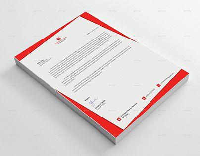 Best Corporate Letterhead Images On   Letterhead
