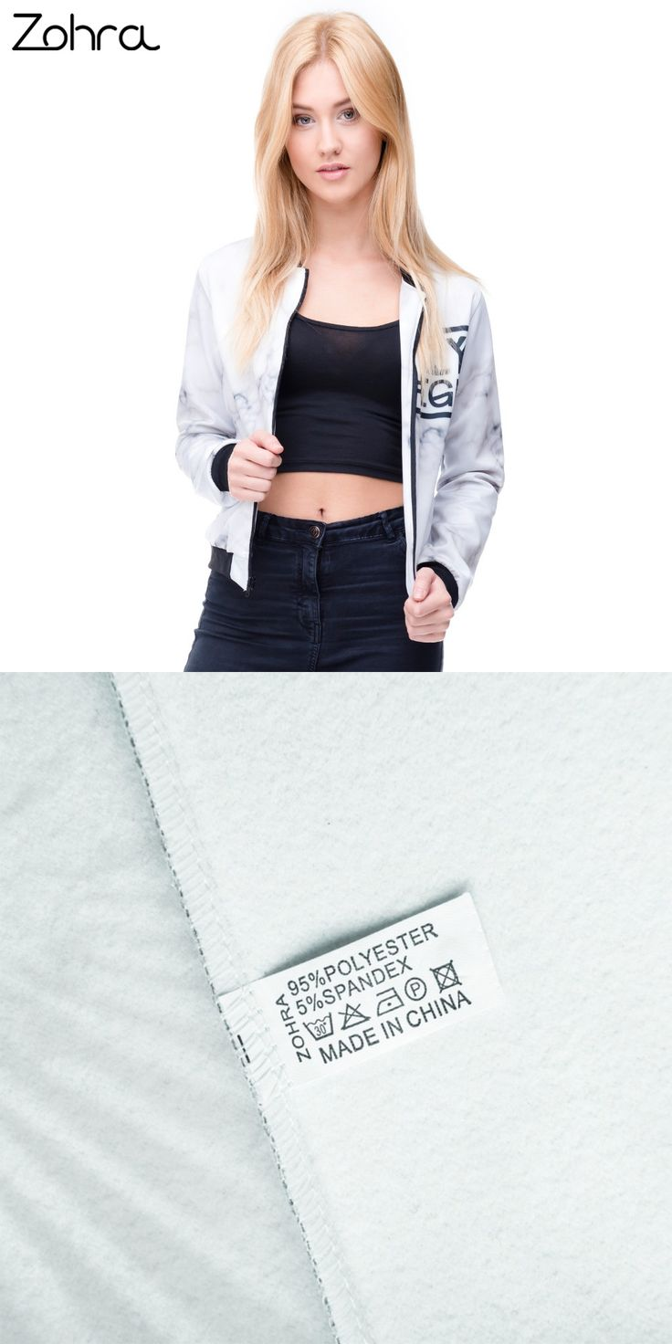 Zohra New Arrival 3D Printed Fly Eagle Womens Bomber Jacket Outwear Full Sleeve Short Paragraph Coats Teenager Jackets