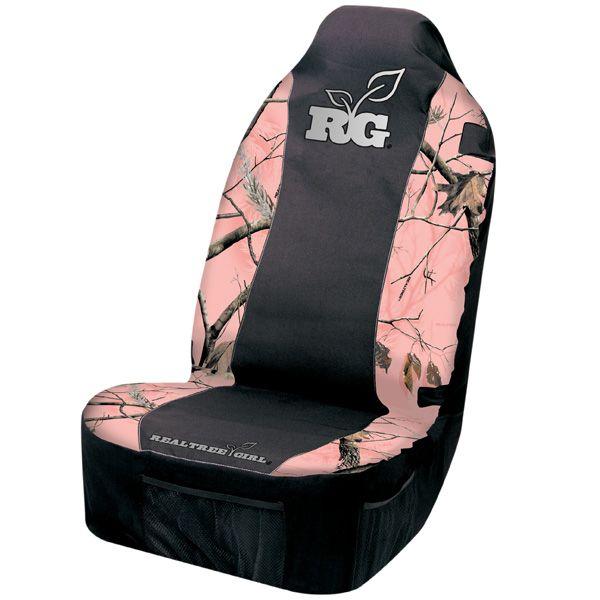 Realtree Girl® Camo Seat Cover