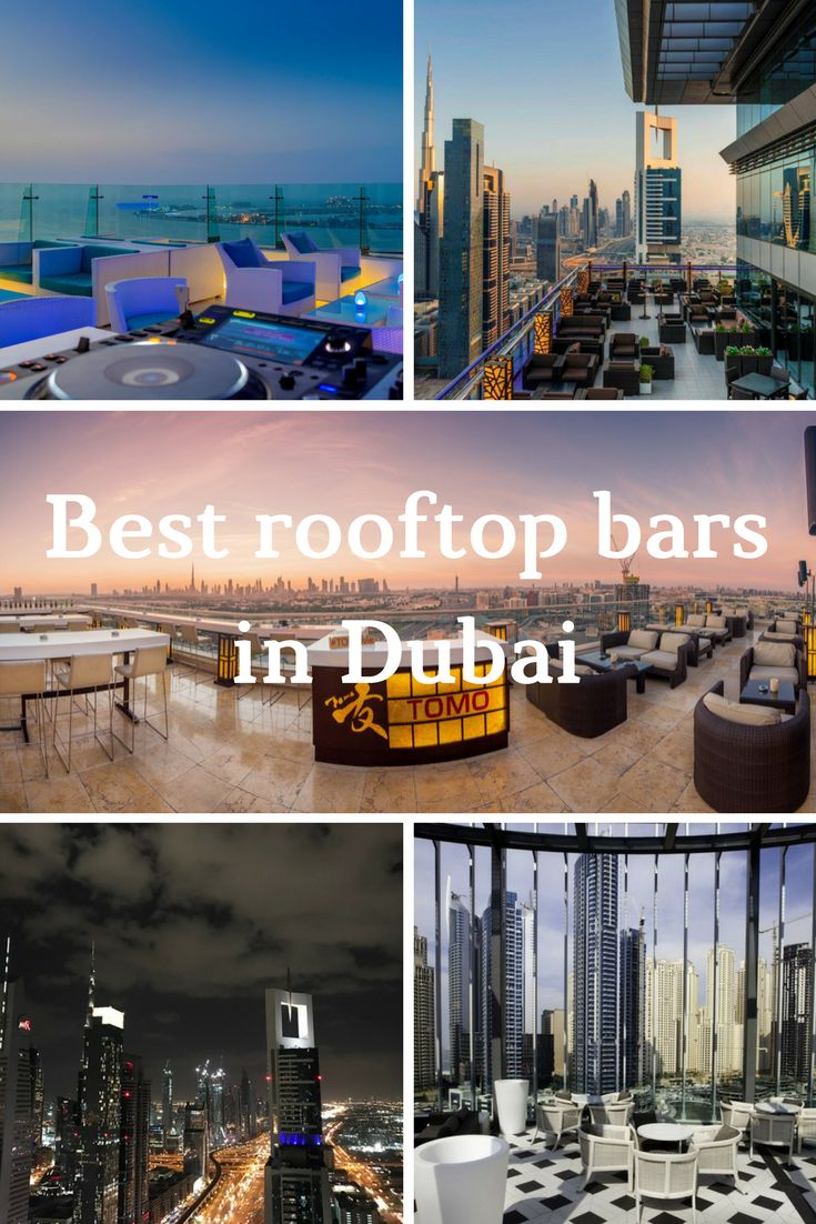 Best rooftop bars in Dubai