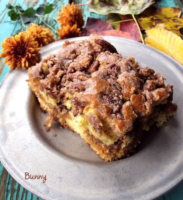 Bunnys Warm Oven: Pumpkin Coffee Cake...One fantastic pumpkin coffee cake!