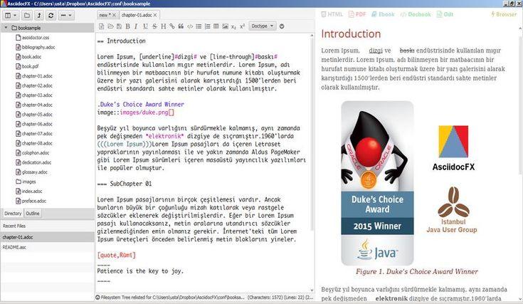 Asciidoc Book Editor: Software Para Crear Books En PDF