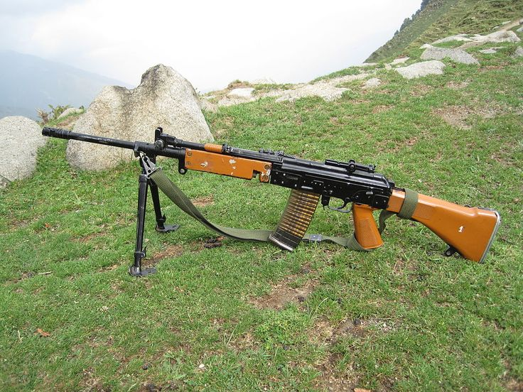 INSAS LMG - INSAS rifle - Wikipedia, the free encyclopedia