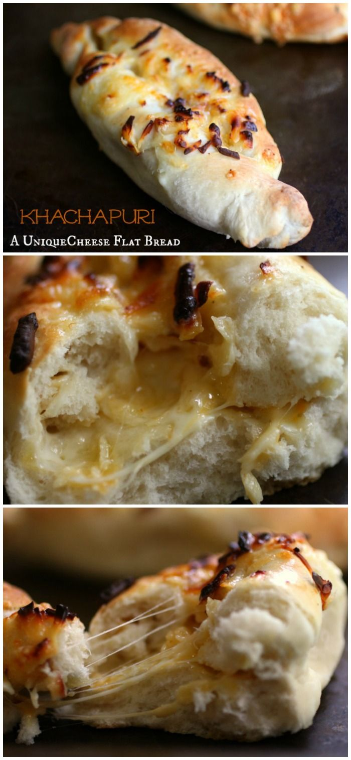 Khachapuri is like the love child of pizza and the best grilled cheese you ever tasted. It only takes a little over an hour to make, too! RestlessChipotle.com