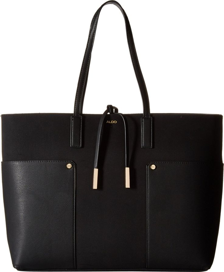 Best 25  Black tote ideas on Pinterest | Black tote bag, Black ...