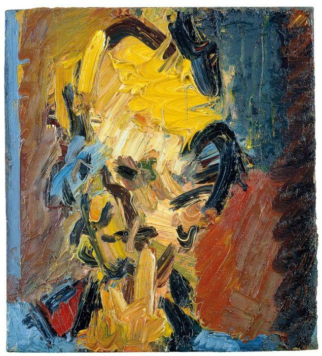 Frank Auerbach - Head of William Feaver, 2003