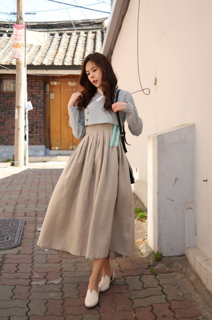 한복 Hanbok : Korean traditional clothes[dress] #modernhanbok 생활한복 // The Goeun