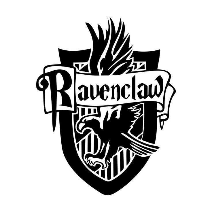 Ravenclaw Harry Potter House Badge Crest Graphics Design