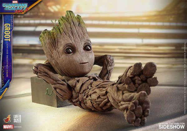 Life-Size Baby Groot Figure Is The Grootiest Groot Figure Of Them All(Geek Stuff)