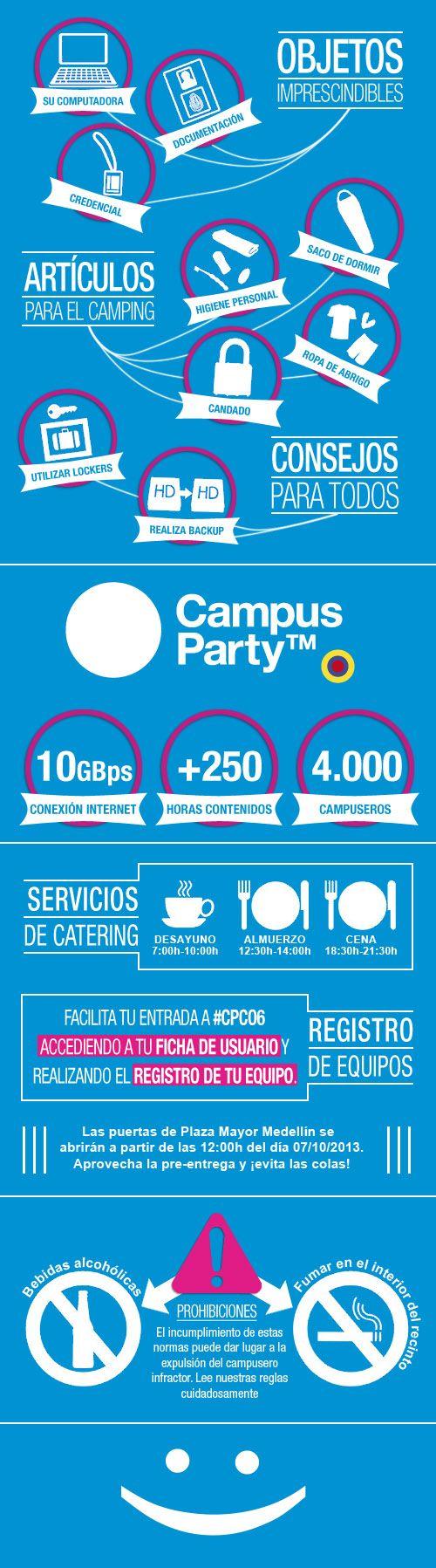 Guía Campusera Campus Party Colombia 2013