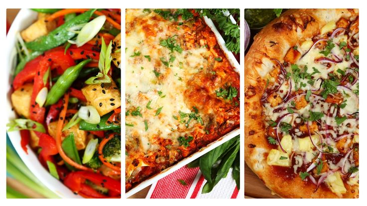 3 Delicious Tofu Recipes TOFU LASAGNA