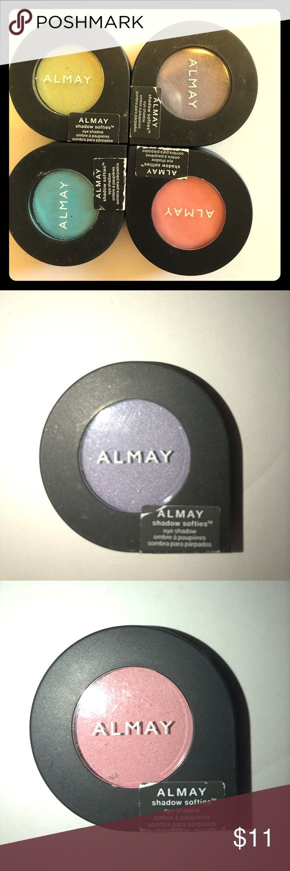 Almay eyeshadow bundle Brand new 115 sea foam 105 honeydew 145 petal 110 lilac  Original price 4.97 each Almay Makeup Eyeshadow