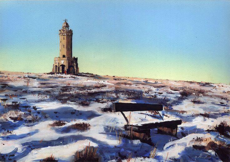 Billy Almond Art: Photo- Darwen Tower.