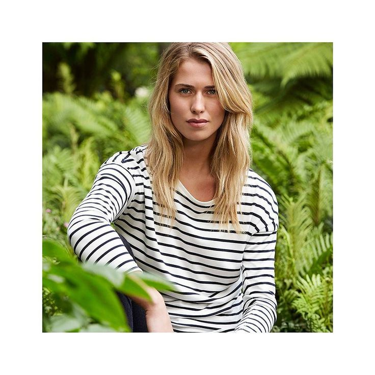 The Breanna Stripe Tee is a staple wardrobe piece made in super-soft luxurious breathable and naturally wrinkle-resistant fabric. Perfect for relaxed weekends.  Buy online now #linkinbio  #summer17 #style #fashion #summer