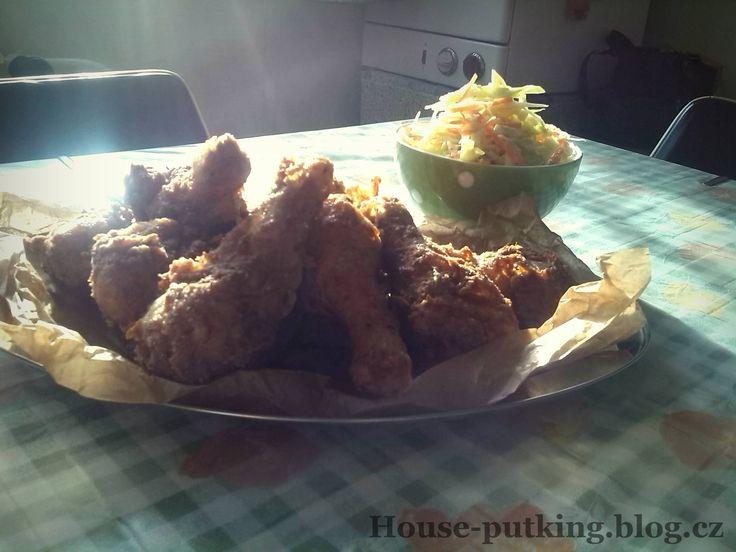 VDP - Smažené kuře a salát coleslaw (31) | House-puťking.blog.cz