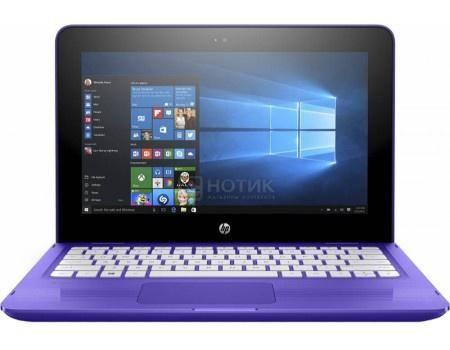 "Ноутбук HP Stream x360 11-ab001ur (11.6 IPS (LED)/ Celeron Dual Core N3060 1600MHz/ 4096Mb/ HDD 500Gb/ Intel HD Graphics 400 64Mb) MS Windows 10 Home (64-bit) [Y5V30EA]  — 29990 руб. —  11.6"" Intel Celeron Dual Core N3060 1600 МГц 4096 Мб DDR3-1600МГц HDD 500 Гб MS Windows 10 Home (64-bit), Фиолетовый"