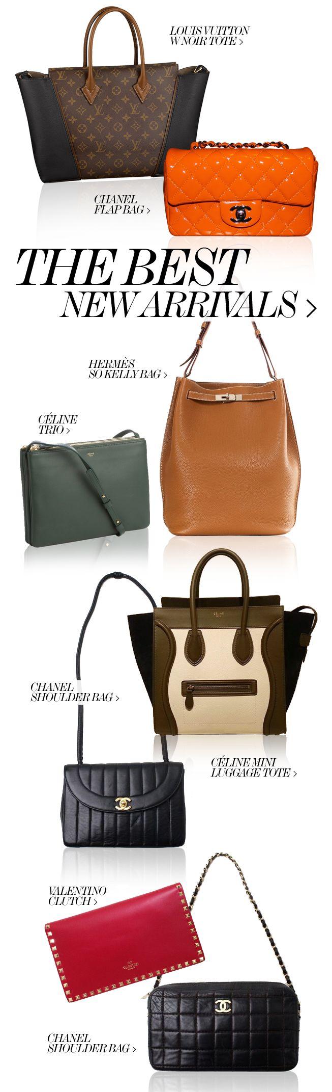 THE BEST NEW ARRIVALS  //  Louis Vuitton, Chanel, Hermès, Céline  Valentino!