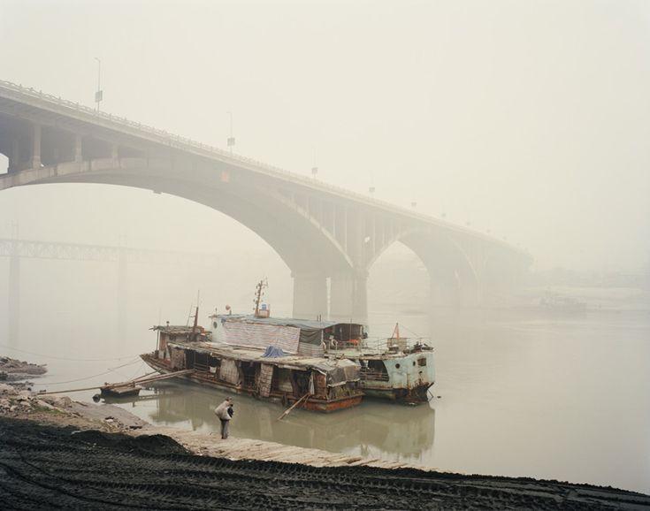 Nadav Kander - Yibin V, Sichuan Province