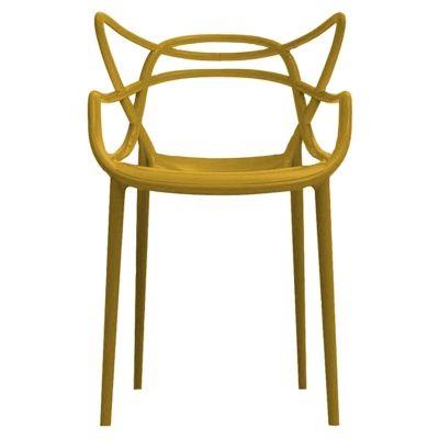 Masters tuoli, sinappi ryhmässä Huonekalut / Tuolit / Tuolit @ ROOM21.fi (103471)