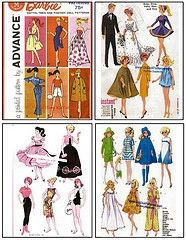 Free Printable Doll Clothes Patterns | SEWING PATTERNS FOR BARBIE CLOTHES | Online Patterns