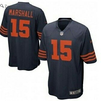 Brandon Marshall Chicago Bears Nike Game Jersey Navy Blue