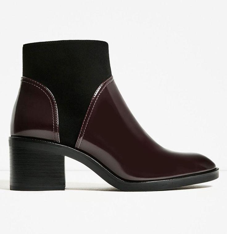 7 botas de Zara que pueden ser tuyas por 700 pesos o menos - ELLE : ELLE