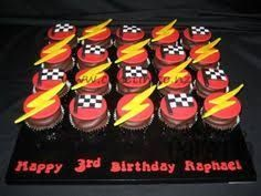 Image result for lightning mcqueen cupcake