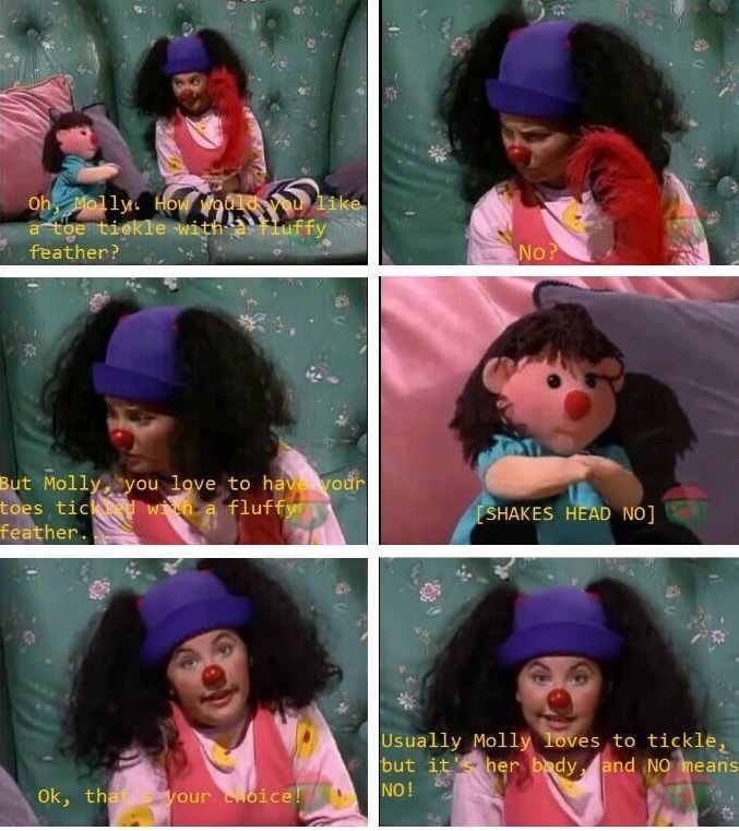 Life lessons from the Big Comfy Couch!