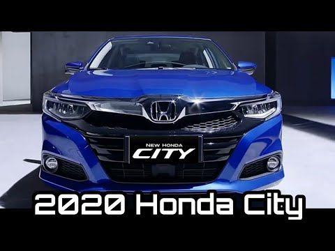 All New Honda City 2020 5th Generation Honda City Honda City Facelift Youtube