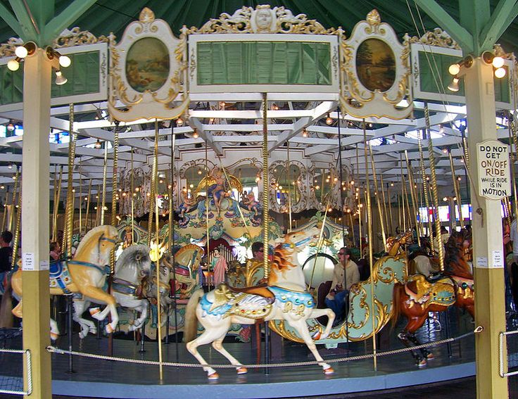 Crescent Park Carousel, East Providence, RI.