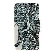 kinston®+recht+olifant+patroon+full+body+pu+hoe...+–+EUR+€+6.85