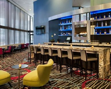 Doubletree Hotel Chicago Magnificent Mile, IL - Lobby Bar | IL 60611