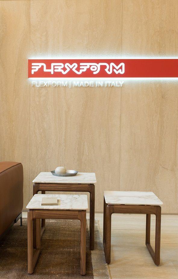 FLEXFORM stand at Salone del Mobile Milano.Shanghai 2016