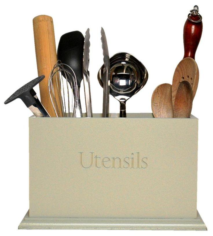 Rustic Kitchen Utensil Holder: Best 25+ Kitchen Utensil Holder Ideas On Pinterest