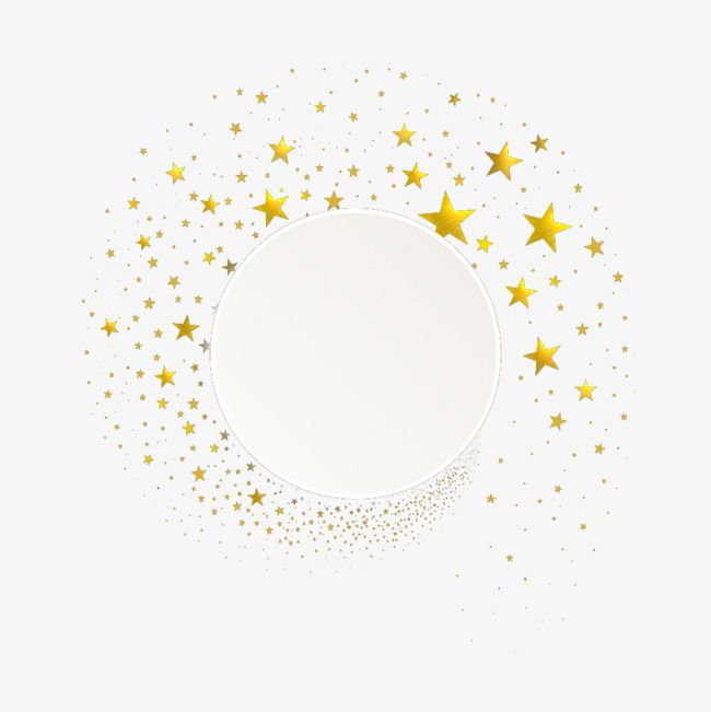 Gold Stars Png And Clipart Gold Stars Brochure Design Template Pastel Background