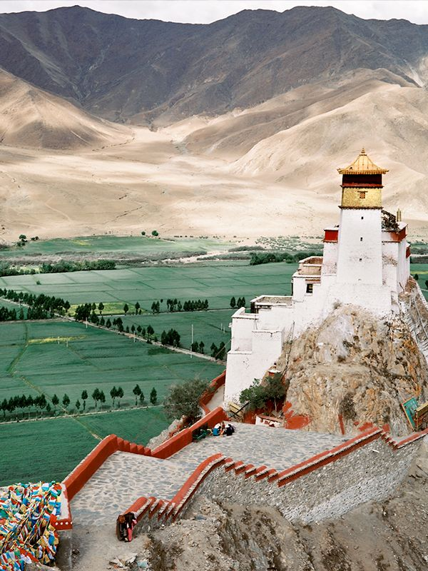 Yumbulhakang, Tibet's First King's Castle. || @RaloTibetanRugs