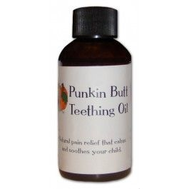 PUNKIN BUTT teething oil. I REALLY want to try this teething oil. I bet it would be so helpful! #NatureBumz