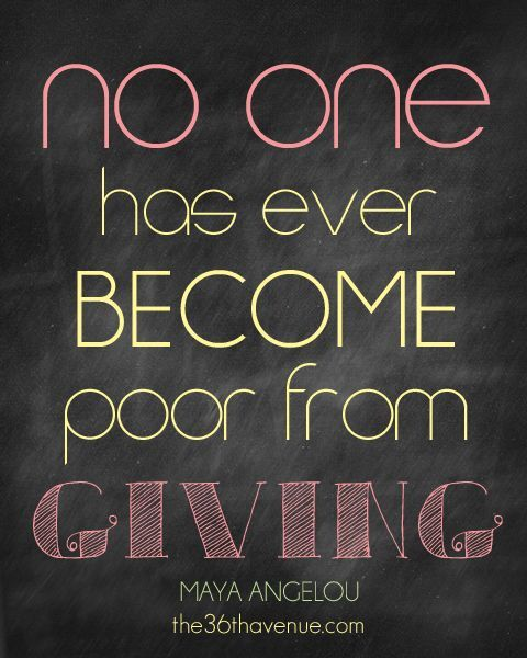 Quotes About Giving Back 29 Best Generosity Quotes Images On Pinterest  Inspiration Quotes .