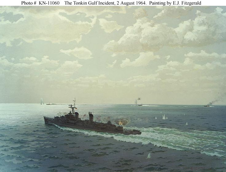 DEEP WATER, DARK SECRETS: REASSESSING THE HISTORIOGRAPHY OF THE TONKIN GULF INCIDENT - Part 2 - http://www.warhistoryonline.com/articles/deep-water-dark-secrets-reassessing-historiography-tonkin-gulf-incident-part-2.html