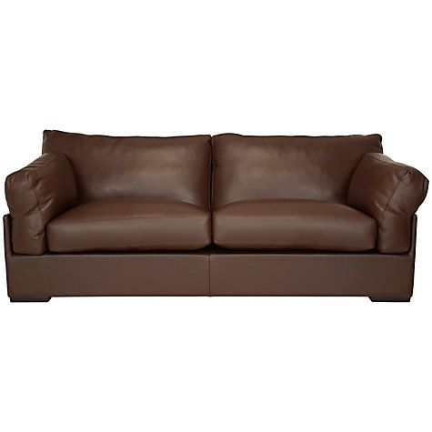 Buy John Lewis Java Grand Sofa, Nature Brown Online at johnlewis.com