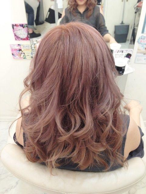 「【kinu】ピンクアッシュ」の画像|hair&relaxation… |Ameba (アメーバ)