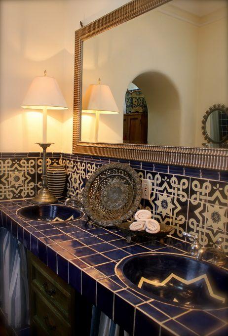 Baño de una casa en San Miguel de Allende Guanajuato, México
