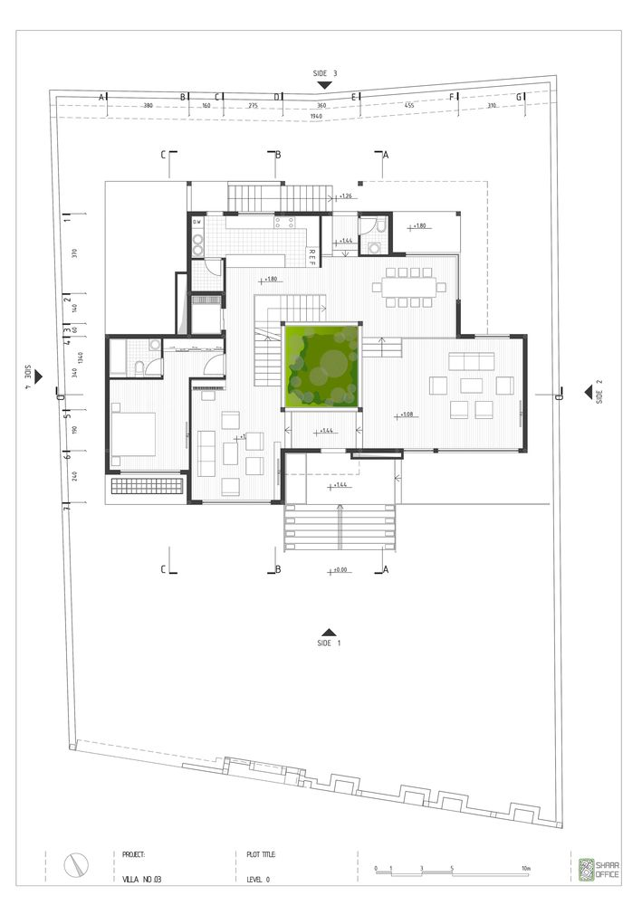 123 best house plan images on pinterest floor plans architects house no 03 shaaroffice ahmad ghodsimanesh and partners malvernweather Choice Image