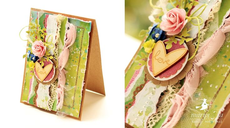 Card by MarysJa / Carpe diem paper collection by P13