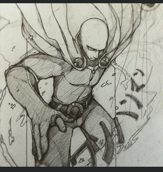#Saitama #Sketch