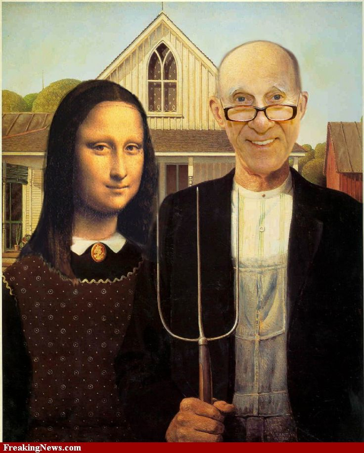 American Gothic, wife-swap style.