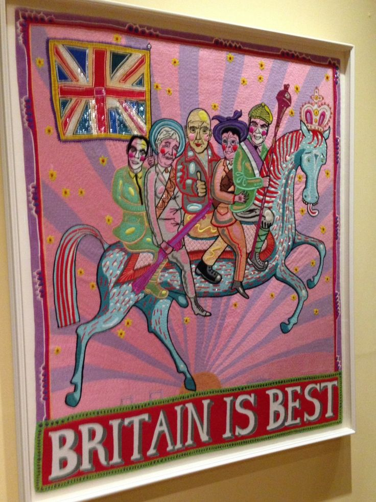 grayson perry tapestry britain is best - Google Search