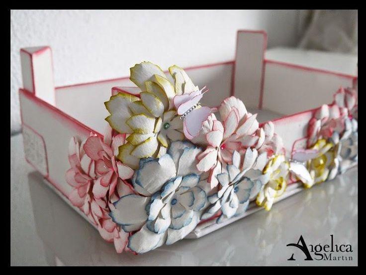 taller caja de fresas decorada