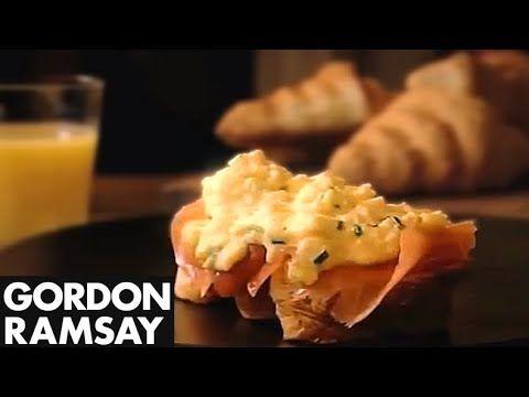 Ramsay's Classic Scrambled Eggs and Smoked Salmon - Gordon Ramsay (+play...